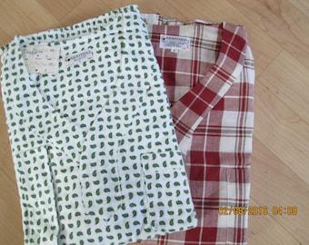 Vintage NWT Mens Pajamas    Size C