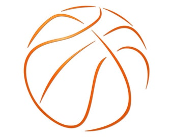 Basketball svg - Basketbal svg files - Vector clipart - Basketbal clipart - Basketbal cut file - Basketbal vector - SVG files - DXF files