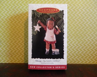 "Hallmark Keepsake All God's Children Ornament ""Christy"""