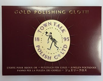 Gold Polishing Cloth by Town Talk. Gold cleaning