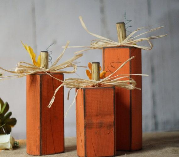 Reclaimed Wood Pumpkins