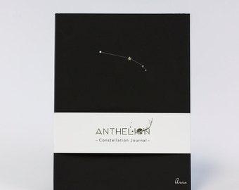 Aries Black Constellation Zodiac Sign Journal