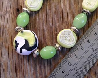 Lemon, Lime & Bitters - Statement Necklace