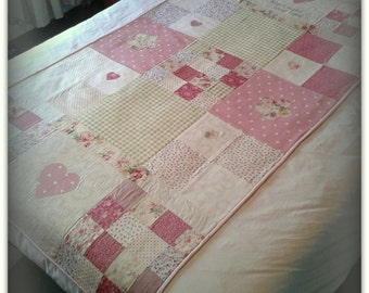 Handmade Quilt for Single Bed