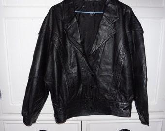 MADNESS size 38 leather jacket