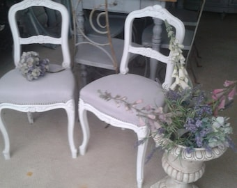 French boudoir chairs