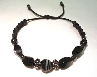 Beautiful Bracelet of Black Gemstones