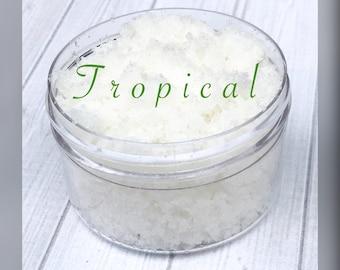 Tropical Sugar Lip Scrub, lip scrub, sugar scrub, exfoliate