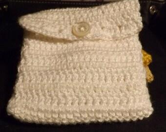 Rosary jewelry bag, Handmade, Lined, Gift Idea