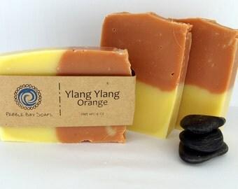Ylang Ylang Orange Soap - Natural Soap - Handmade Soap - Cold Process Soap