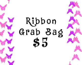 10 Yards Cartoon Characters Ribbon Grab Bag - Mystery Ribbon Grab Bag - 10 Yards Mixed Ribbon Grab Bag - 10 Yards Ribbon Lot
