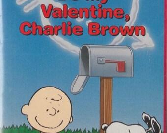 Be My Valentine Charlie Brown VHS