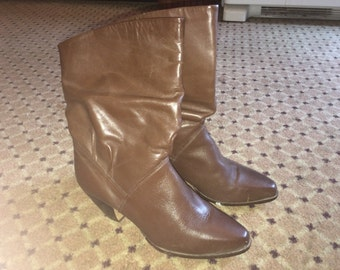 Fall/winter *Brown* Ankle booties