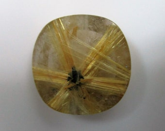 Natural Rutile, Rutilated Quartz, Star Rutile, Inclusion Quartz, Golden Rutlilated, Star Quartz, Clean Rutile, Loose Gemstone, Natural Quatz