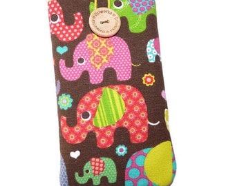 Lg v20 case, elephants, Lg g5 case, Lg v10 pouch, LG g4 cover, LG g3 case, protective LG case, elephants Fabric, Lg G5 phone case, cellphone