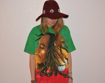Festival Rasta Bob Marley Lion T-Shirt