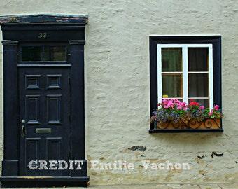 Door in Vieux-Quebec Image JPEG Download Photography