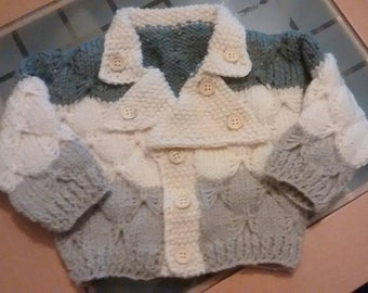 """Knitting pattern George size Baby 18"""" up to 22"""""""