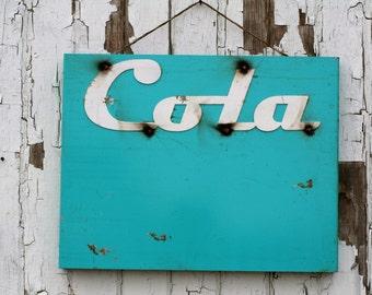 Cola vintage style metal sign, Vintage style magnet board, metal cafe sign, metal cola sign, vintage drive-in sign, old cola sign, cola