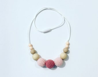 nursing necklace/ teething necklace/ breastfeeding necklace /borstvoeding ketting