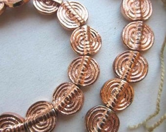 Copper Spacer Beads (12x12mm) [64816]