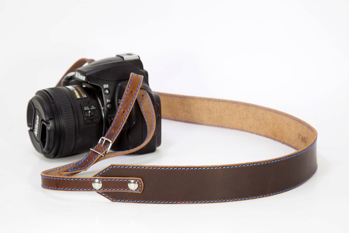 Camera Strap Leather Camera Strap Personalized Camera Strap - photo#11