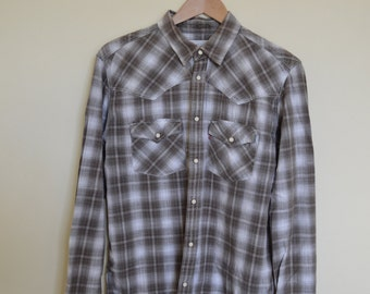 Vintage plaid western shirt by Levi's