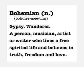 Bohemian - Boho - Available Sizes (8x10) (11x14) (16x20) (18x24) (20x24) (24x30)