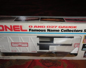 Vintage 9408 Lionel Lines O and O27 Gauge Famous Name Collectors Series Circus Stock Car