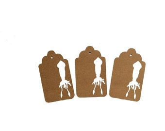 Giant Squid Gift Tags