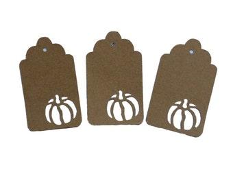 Pumpkin Gift Tags
