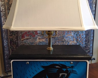 Custom NFL License Plate Table Lamp, Specify Your Team