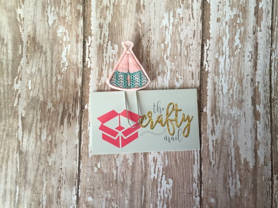 TeePee Paper Planner Clip
