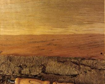 Hand turned wooden pen