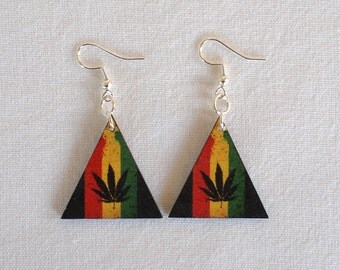 Hemp / Cannabis Leaf Earrings