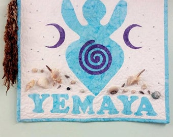 Goddess Yemaya Wall hanging