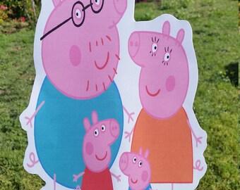Peppa pig family 10 inch