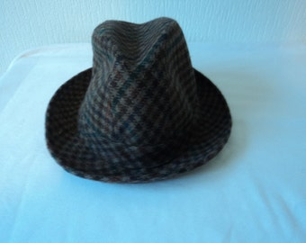 Reduced - French vintage trilby/ fedora hat  (03425)