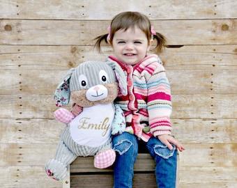 Personalized Stuffed Animal, Bunny, Personalized Bunny, Birth Stats Keepsake, Personalized Gift, Birth Announcement Stuffed Animal,Cubbies