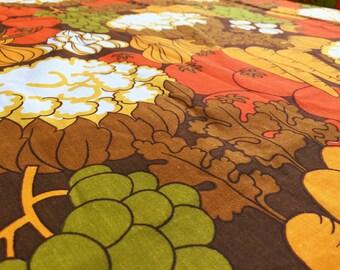 German vintage fabric 50cmx120cm Dekoplus vegetables