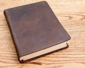 KJV Journaling Bible, Full Grain Cowhide Leather