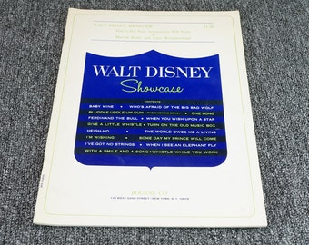 Walt Disney Showcase By Marvin Kahn & John Westmoreland C. 1967