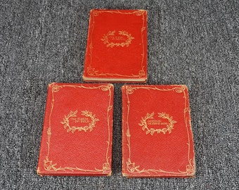 Vintage Ariel Booklets Collection Of 3 Books C. 1903