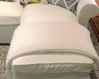 Custom Handmade, Chunky Crochet Throw Blanket