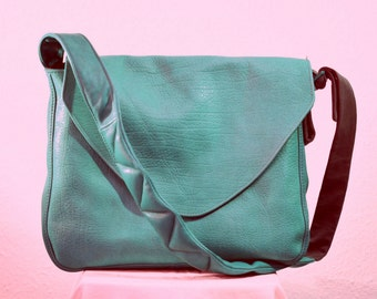 Elbin Sholderbag, Lether ,mint,freeshipment