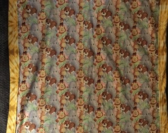 Jungle babies blanket