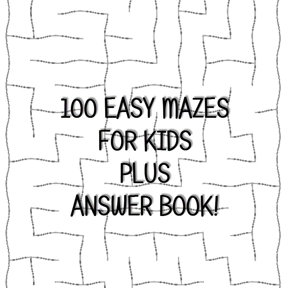 It's just a photo of Adaptable Printable Mazes for Kindergarteners