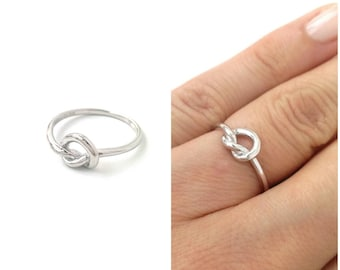 Ring node Sharmila Silver 925/000 - ring Silver 925/000-geometric Silver 925/000-Sharmila node ring 925 silver sterling