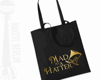 Tote Bag   'Mad as a Hatter'