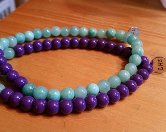 Personalized Beaded Bracelet
